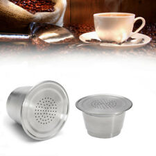 New Reusable Stainless Steel Refillable Coffee Capsule Pod For Nespresso Machine
