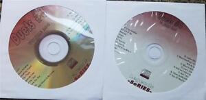 2 CDG KARAOKE LEGENDS DISCS DUETS R&B SOUL POP OLDIES BROADWAY STANDARDS CD+G