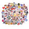 100X Mixed Funny Cartoon Doodle Decals Luggage Laptop Skateboard DIY Sticker ATA