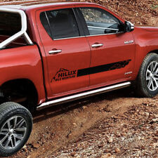 Toyota HILUX 2016 TRD Mountains graphics side stripe decal