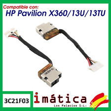 HP Envy 799735-Y51 DC Power Jack Charging Port Socket Cable Connector