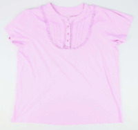 Union Blues Pink Cotton Womens Top Size 26 (Regular)