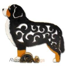 Bernese Mountain Dog figurine, statuette made of wood