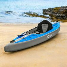 AquaTec Inflatable Kayaks [2 Sizes]   WATER SPORT BOAT With Pump, Bag & Paddles