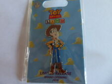 Disney Trading Pin 128832 Loungefly - Toy Story Land Grand Opening - Woody