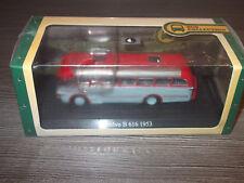 Atlas Verlag Bus Collection Volvo B 616  1953  Silber - Rot 1:72 mit OVP