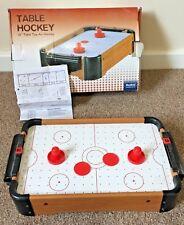 "MenKind Table Top Mini Air Hockey 16""  Children Family Fun Game"