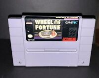 Wheel of Fortune , Game Only, Super Nintendo SNES