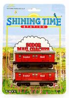 ERTL Shining Time Station MAIL COACHES * THOMAS Tank Engine 1995 Diecast #4371