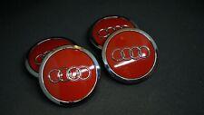 Audi 8T0 601 170 A Nabenabdeckung Nabendeckel ROT