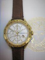 Versace Glaze VEBJ00418 Luxury Men's Chronograph Swiss Watch 2 Years Warranty