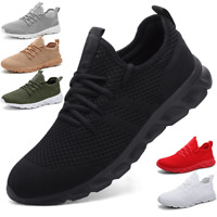 Men's  Fashion Running Shoes Gym Workout Slip Resistant Tennis Sports Sneakers