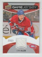 (75268) 2012-13 UPPER DECK SERIES 1 GAME JERSEY LARS ELLER #GJ-EL