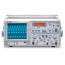 Instek GOS-630FC 30 MHz Analog Oscilloscope