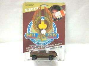 VINTAGE FALL GUY GMC COLT 1:64 SCALE DIECAST METAL PICKUP TRUCK #1875 ERTL 1982