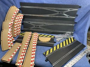 HORNBY SCALEXTRIC SLOT CAR RACING Track LOT ~ Harder to Find Pieces