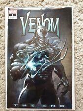 Comics Marvel VO - Venom, The End #1 + COA cover by Clayton Crain