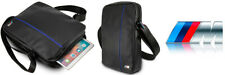 "Genuine BMW Carbon Blue Stripe M Sport Travel Bag 8"" for Tablet and Gadgets"