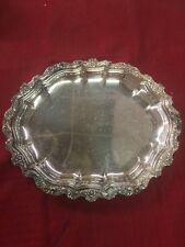Countess International Silver Co Serving Tray 231 12x10 Inch