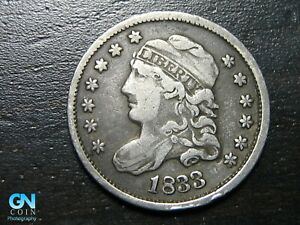 1833 Capped Bust Half Dime  --  MAKE US AN OFFER!  #B9761