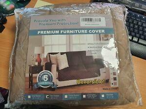 2 Seater Sofa Premium Furniture cover - Latte