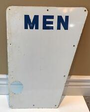 Vintage Porcelain Gas Station Bathroom Signs - MEN & LADIES