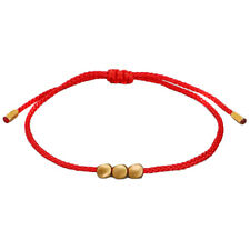 Tibetan Braided Knitting Copper Beads Lucky Rope Bracelet Bangle Couple JeweBDA