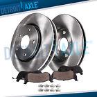 Front Rotors + Brake Pads for Chevy Cobalt Malibu HHR Pontiac G6 Saturn Aura Ion