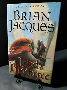 LORD BROCKTREE Tale from Redwall Brian Jacques Book 1st Edition Salamandastron