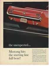 1964 Ford Mustang Convertible 2 pg Ad
