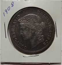 1908 B Switzerland 5 Francs Silver