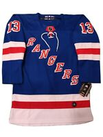 Alexis Lafreniere Brand New Men's Blue New York Rangers Jersey Size 50