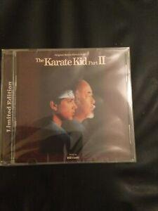 The Karate Kid Part 2,bill Conti Film Soundtrack,ltd Edtion Of 3000