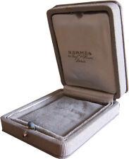 Authentic Hermes Vintage Earrings Pendant Cufflinks Ring Jewellery Box