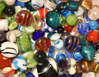 5 LB  Bulk Handmade Glass Mixed Style /& Colors Lampwork Beads