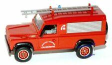 Véhicules de pompiers miniatures Solido 1:43