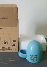 POPETPOP Hamster Water Feeder Ceramic Automatic Drinking Bottle Guniea Pig...