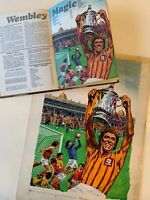 Original Comic Artwork - Valiant Annual 1984 - Football FA Cup Final - Wembley