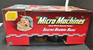 Micro Machines Secret Double Base RETIRED new 2003 Hasbro