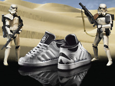 Adidas Star Wars Stormtrooper Trainers UK 9 *collector's item**mint condition*