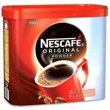 NESCAFE ORIGINAL POWDER COFFEE 750g CATERING TIN APPROX 416 SERVINGS! FREEPOST!!