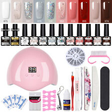 37x/set MAD DOLL Building Poly UV Gel Nail Polish 36W Nail Dryer LED Lamp Kit