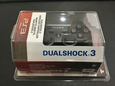 Sony PS3 DualShock 3 Black Wireless Controller NEW IN BOX WOW!!!!!!