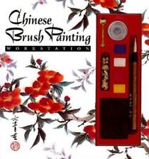 Chinese brush painting workstation 1993 hard cover book vintage how to craft