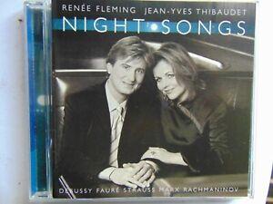 Renee Fleming & Jean-Yves Thibaudet - Night Songs - CD - FREE POST