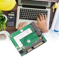 Mini mSATA-SSD to 2.5'' SATA Drive Adapter Converter Module Board Ahy Card