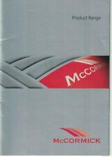 McCormick  Tractor Product Range Brochure / Leaflet 2007 6988F