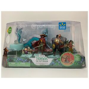 Disney's Raya and the Last Dragon Journey Through Kumandra Figurine Set (NIP)
