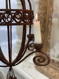 Antique Vintage French Candelabra Candle Holder Or Electric Original Condition
