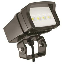 Lithonia Lighting Bronze Outdoor Integrated Led 5000K Landscape Flood Light